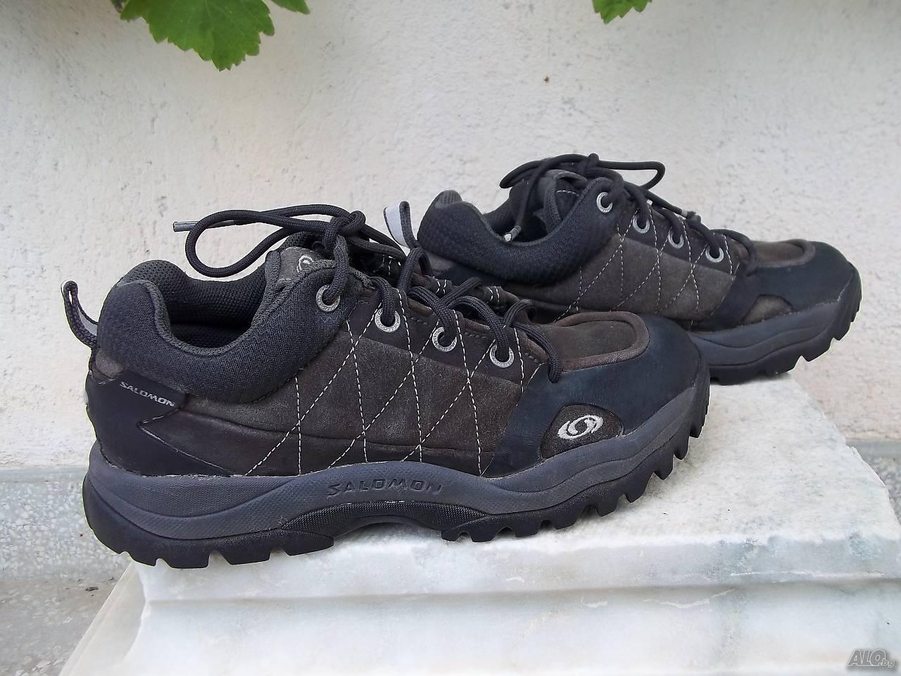 598b479e1f6 Велурени обувки маратонки SALOMON EU 38 Маратонки Дамски сив ...