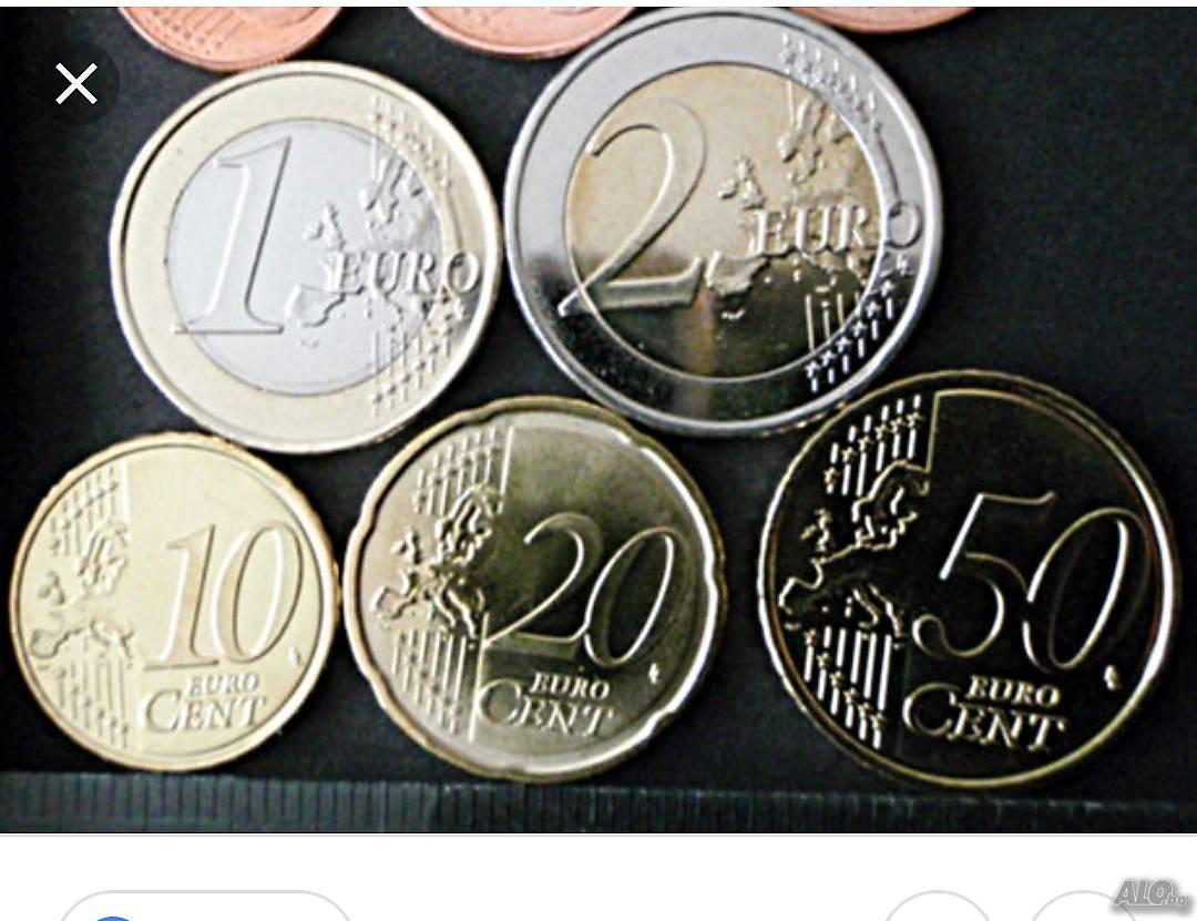 Купувам монети евроцентове, може и количества | Купува | гр. София Купувам монети евроцент..