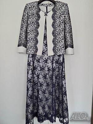 64c01f76861 официална рокля дантела - цена, обяви