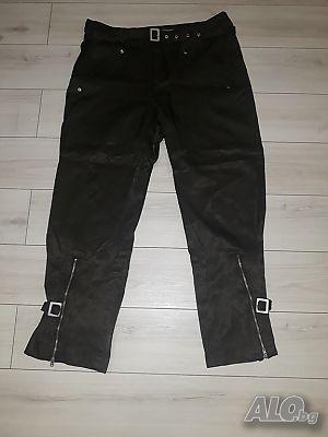 f23ac234826 Спортен лъскав панталон маслено зелен марка Street ONE