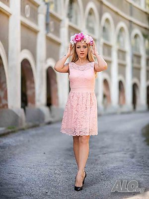 7cc636ec1f7 дантела рокля - цена, обяви