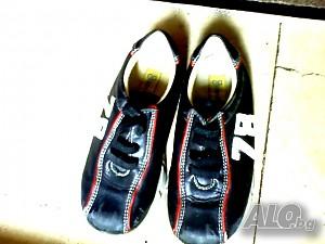 """e5e495c2a31 Детски кожени маратонки """"EAREN Schuhe"""" №26, стелка 16 см, ортопедична"""