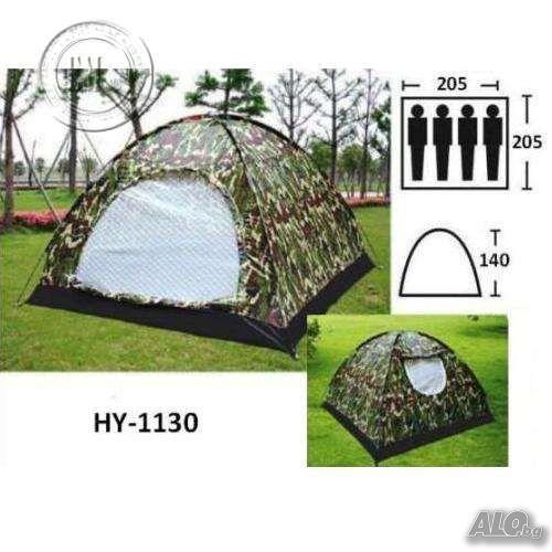 d5b7cc9afdf Нова четириместна камофлажна палатка с комарник 206/206/145см ...