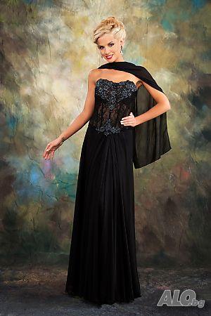aef3519bf95 Елегантни вечерни рокли под наем, различни размери