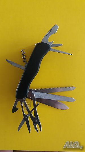 5ac79d78084 Стабилен многофункционален джобен нож тип 13 в 1- 2 модела