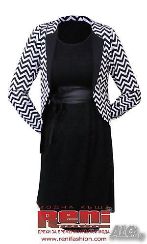 1ba74ffd9b6 Официална рокля за едри жени от дантела - модел 055. Мода ...